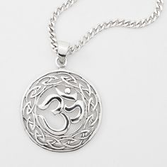 Sivana — Sterling OM Necklace