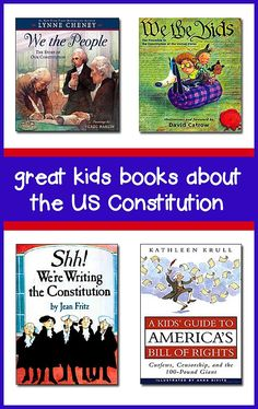 This page lists the best books about the Constitution for kids -- great for helping