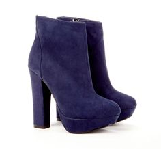 Purple ankle boots for fall