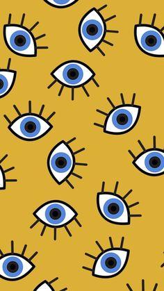 Wallpaper Tumblrs, Eyes Wallpaper, Pattern Wallpaper, Screen Wallpaper, Art Pop, Cute Backgrounds, Wallpaper Backgrounds, Phone Backgrounds, Wallpaper Ideas