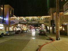 Monterrey Ca. at night