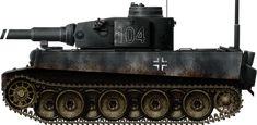 Tiger Ausf.H-1, early production, testing the schnorchel with Panzer Abteilung 502, Leningrad sector, January 1943.