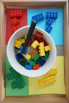 Farben lernen Feinmotorik üben Lego Duplo Tucked away in a tranquil garden is the home of St Kilda Steiner Kindergarten. Preschool Learning Activities, Infant Activities, Kids Learning, Activities For Kids, Crafts For Kids, Toddler Fine Motor Activities, Toddler Sensory Bins, Lego Duplo, Kindergarten Lesson Plans