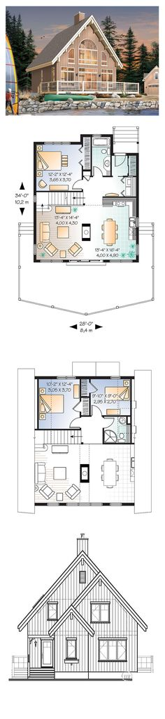 1000 images about contemporary house plans on pinterest for Large house plans 7 bedrooms