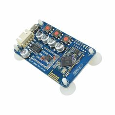 PAM8403 Stereo Amplifier Module with CSR8635 Bluetooth 4.0. A very small board that pumps out 3W+3W stereo. Amazing sound quality for something so small!