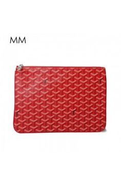 Goyard Clutch Bag MM Red Goyard Clutch, Clutch Bag, Handbags, Red, Accessories, Totes, Clutch Bags, Clutch Purse, Purse