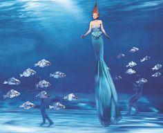 The Dutch premiere of The Little Mermaid. (Tessa Sunniva van Tol as Ariel)