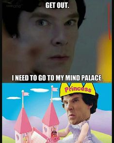 Sherlock and hi mind palace 😄 benedict cumberbatch Sherlock Fandom, Watch Sherlock, Sherlock Quotes, Sherlock Humor, Sherlock John, Sherlock Bbc Funny, Benedict Cumberbatch, Sherlock Holmes Wallpaper, Sherlock Holmes Dibujos
