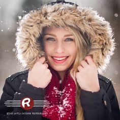 Snow is the perfect setting for unique and totally one of a kind senior portraits. Ryan David Jackson Photography located in Fayetteville, NC. www.seniorportraits.ryandavidjackson.com  #outdoorportraits #ncportraits #northcarolina #photography #photographer #ncseniorportraits #bestphotographer #fayettevillephotography #affordablephotography