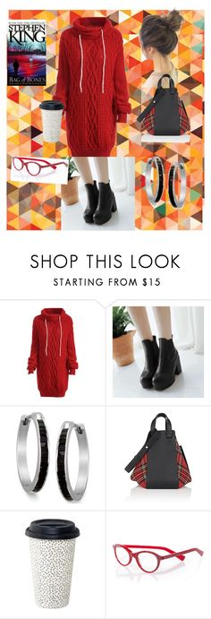 """""""Autumn Book Club"""" by nini-pie ❤ liked on Polyvore featuring Loewe and eyebobs"""
