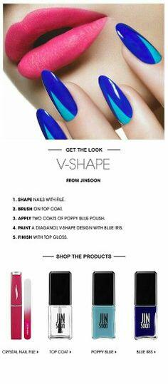 Get the V shape