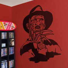 Adesivi Murali: Freddy Krueger #cinema #decorazione #deco #StickersMurali