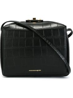 Alexander Mcqueen Bolsa Modelo 'the Box' De Couro - Capsule By Eso - Farfetch.com