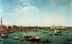 Bacino di San Marco, Giovanni Antonio Canal (Canaletto), 1738, olio su tela, Museum of Fine Arts, Boston