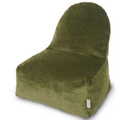 Villa Bean Bag Chair Color: Fern - http://delanico.com/bean-bag-chairs/villa-bean-bag-chair-color-fern-589017057/