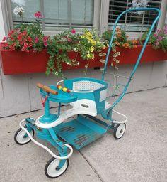 Mid Century Vintage - Genuine Taylor Tot Baby Stroller Walker