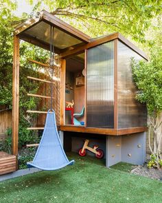 "5,794 Likes, 41 Comments - Tiny House Magazine (@tinyhousemag) on Instagram: ""#Playhouse in Architect Henri Bredenkamp's garden of his #London house #interiors #interiordesign…"""