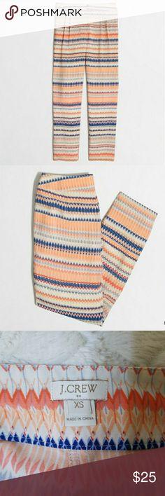 J. Crew Factory Printed Drapey Beach Pant Colorful, comfortable Beach Pant // J. Crew Factory J. Crew Factory Pants