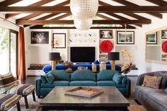 red cameroonian juju hat : Reath Design | Los Angeles Interior Design » POINT DUME