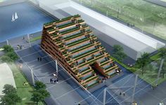 Vietnam's Pavilion at Expo 2015 Competition Entry,Courtesy of H&P Architects