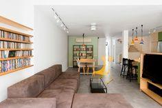 kts. myös kuva samasta tilasta keittiöissä http://design-milk.com/family-house-israel/house-in-israel-raanan-stern-7/ House-in-Israel-Raanan-Stern-7