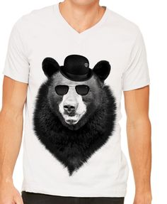 Papa Orso V-Neck by Just Daddy