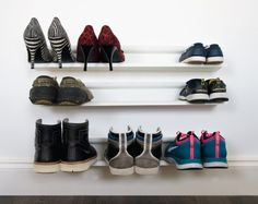 love theses horizontal shoe rack white - j-me