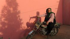 Zarifa Qazizadah, one of the very few female village heads in Afghanistan