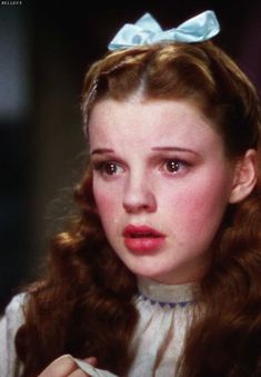 a duchess in pearls ♥Judy Garland as Dorothy in the Wizard of Oz