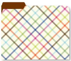 $15 for 9 and your active files would be complete with this plaid design