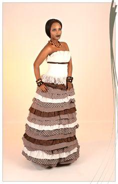 AfroRust - African Inspired Wedding Dress Design House | Crocodile River