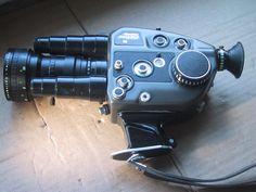 Beaulieu ZMll Super 8MM Camera w/Schneider 6-66MM Lens, Battery&Charger #Beaulieu