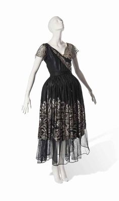 Jeanne Lanvin, robe de style  1923-24