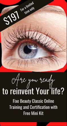 DID YOU KNOW THAT LASH ARTISTS MAKE AN AVERAGE OF $65 TO $95 PER HOUR? GET LASH PRO CERTIFIED IN LESS THAN 2 DAYS ONLINE! #lashes #lashextensions #beautyproducts #makeup Beauty Lash, Beauty Skin, Beauty Makeup, Makeup Guide, Drugstore Makeup, Skin Makeup, Blog Tips, Hair Trends, Hair And Nails