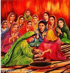 Baloch Art