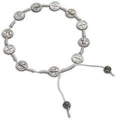 Amazon.com: Catholic Men or Womens Bracelet, St. Benedict Cord Medal Rosary Bracelet, Exorcism Medal for Protection Against Evil, Material: ...
