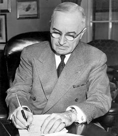 """If the Cold War had a formal beginning, it was probably May 22, 1947. On this day, President Harry S. Truman signed into law what might be his most durable legacy: The Truman Doctrine."" The Doctrine provided Financial Aid to Greek and Turkish Governments to strengthen those nations and fend off Soviet Communist expansion."