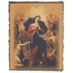 Our Lady Undoer of Knots Religious Weaves - Coverlet-Leaflet Missal