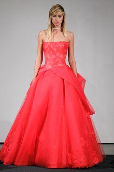 Vera Wang All Pink Wedding dresses 2014 Bridal Collection Pink Wedding Gowns, Wedding Dresses 2014, Pink Gowns, Bridal Gowns, Dress Wedding, Pink Dresses, Pageant Dresses, Party Dresses, Vera Wang Bridal