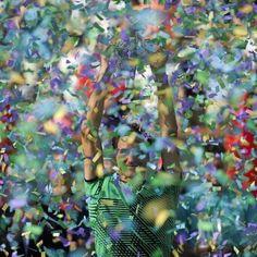 Federer winning 5th BNP Indian Wells championship 20 Mar 17.  Bravo!