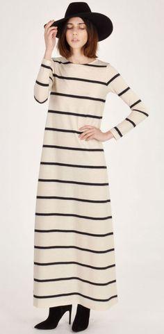 Samuji Walentyna Stripe Dress