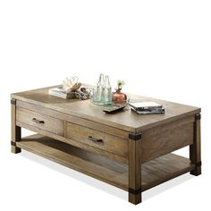 Riverside Furniture Bay Cliff Coffee Table