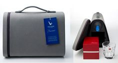 Grey Goose Baccarat Carrying Case - Imagine the price of bottle service if you had a few of these to sell!