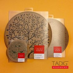 TADIG KitchenKit Cork Coaster Placemat SilkScreen HandPrint ArtWork Limited Edition illustration Design Packaging Traditional Geometrical Floral Artistic Pattern HomeWare KitchenWare Heat Scratch resistant NonSlip Naturally antibacterial Find out more: https://www.facebook.com/tadig.kitchenkit http://instagram.com/tadig.kitchenkit