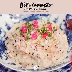 Vamos receber: receita de dip de camarão com kani e gengibre - Casa Vogue   Vamos Receber
