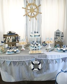 Ahoy it's a boy,nautical baby shower,nautical,beach nautical baby shower. Love nautical theme parties and baby shower is extra special.