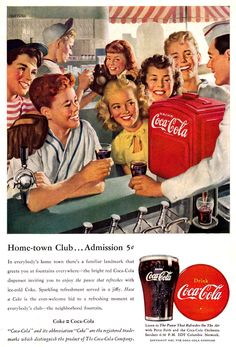 Nick Hufford illustration for Coca-Cola