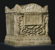 A Marble Cinerary Urn, Roman Imperial, circa late 1st/early 2nd Century A.D., the base and lid attributed to Bartolomeo Cavaceppi (1716-1799) | Lot | Sotheby's