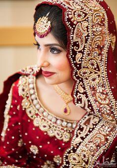 Indian bride, #nikkah #indianwedding
