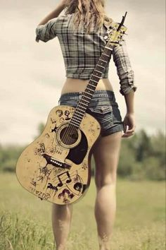 Sometimes, your guitar becomes your fifth limb - an extension of you.